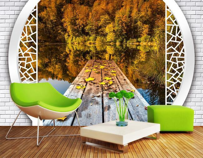 wall paper 3d nature wallpaper mural wall stickers wallpaper papel