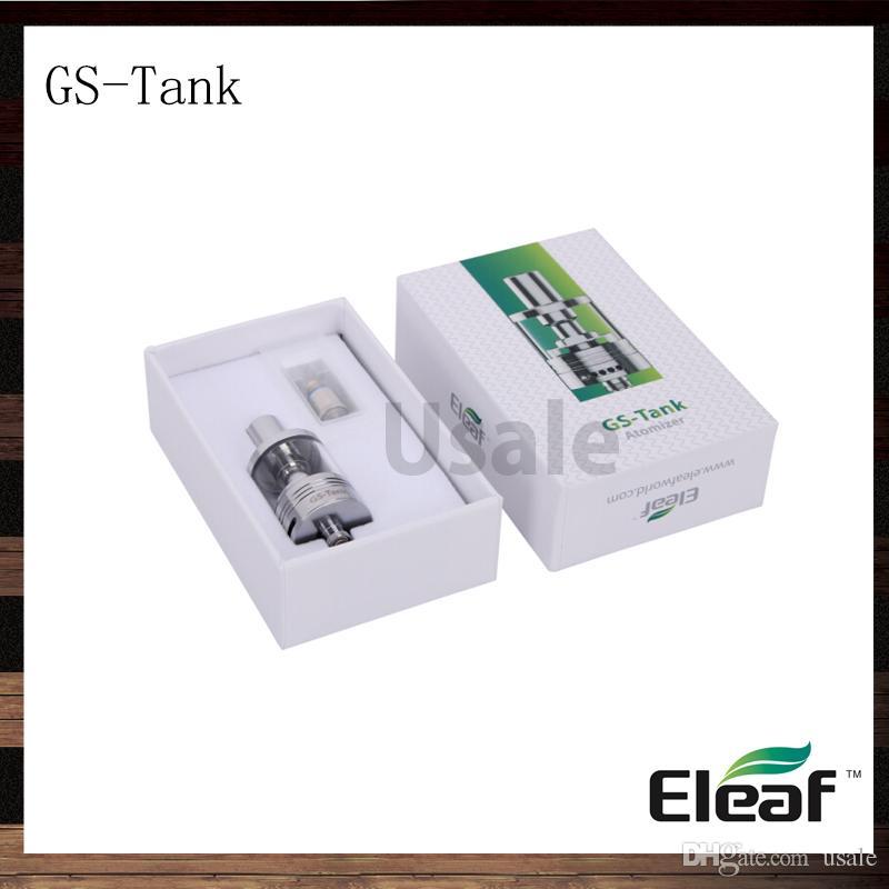 Ismoka Eleaf GS Tank 3ml GS-Tank Atomizer With 0.15ohm GS Air TC Head Best Match istick tc 40w 100% Original VS Starre Pro Aspire Triton