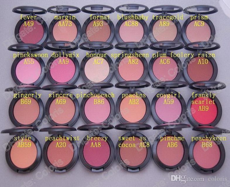Maquillaje Shimmer Blush Sheer Tone Blush es diferentes Sin espejos Sin cepillo 6g Mini orden