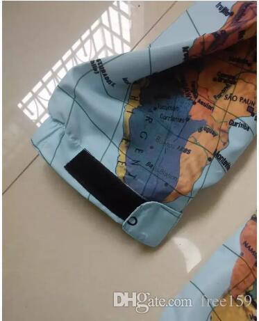 19ss brand clothing plus-size XXXL Map Jacket Reflective jackets coats men women fashion Windbreaker Coat Hooded embroidery outerwear