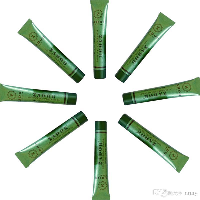 Zador Fine Bar Makeup cover Pure Natural Avocado Oil Professional Face Concealer Makeup Base