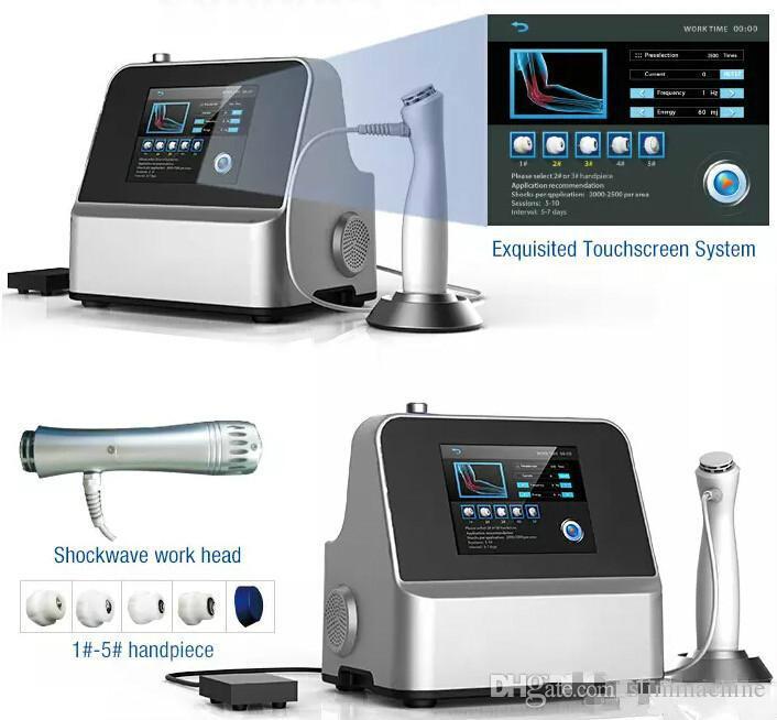 vendita diretta produttore !!! Top macchina di terapia con onde d'urto portatile / apparecchiature terapia con onde d'urto trattamenti ED CE / DHL