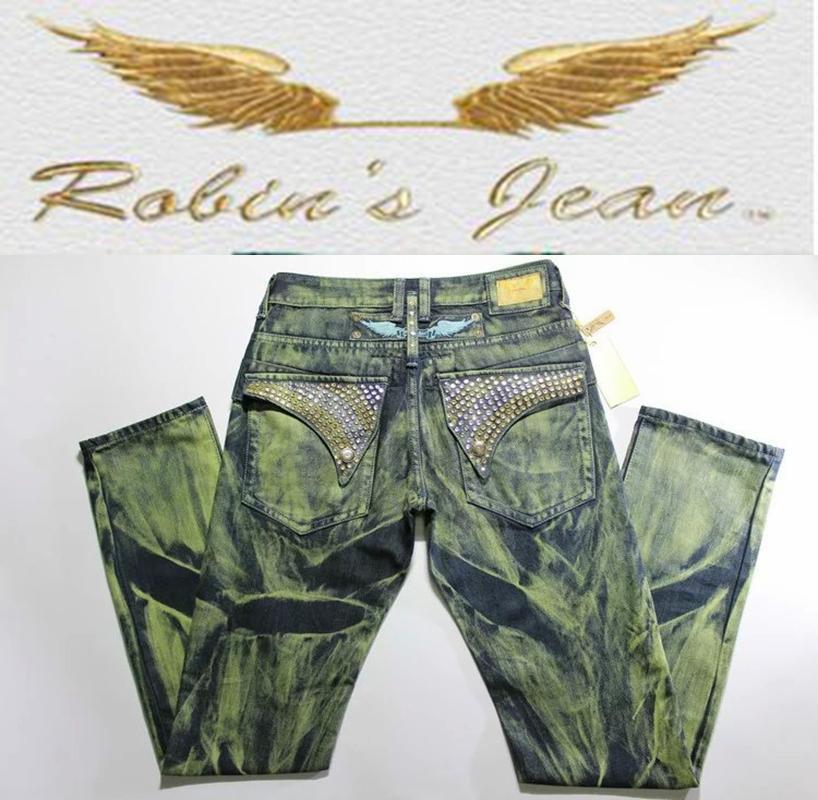 2019 100% Original Printed Jeans Men Famous Brand Robin ...