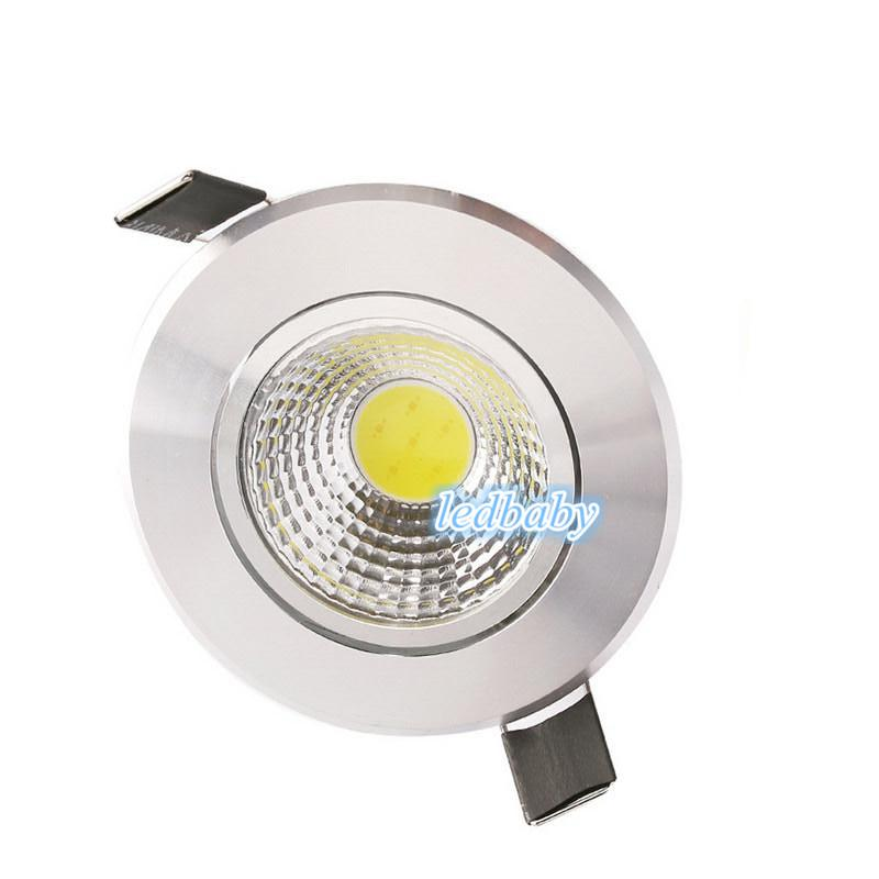 X30 High Power COB Led Downlights AC85-265V 9W 12W 15W 18W 21W Dimmable/Non-Dimmable Warm Cool White Down Lights With Power Drivers