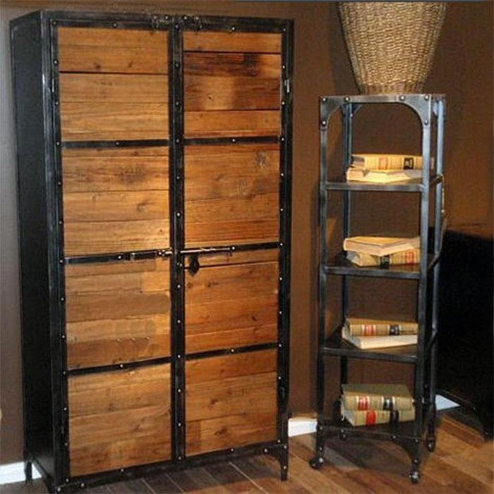 wrought iron and wood furniture. Antique Wrought Iron Wood Bookcase Entrance Cabinet Steel Racks Lockers Showcase Online With $1987.39/Piece On Zhoudan5245\u0027s Store | DHgate.com And Furniture