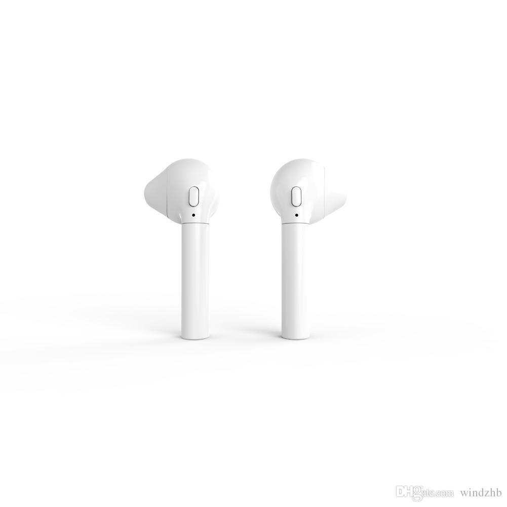 Auriculares Bluetooth HBQ I8 vs HBQ I7 TWS Auriculares inalámbricos Twins Mini auriculares intrauditivos para Android Samsung S7 S8 Note 8 iPhone 7 8 X Huawei