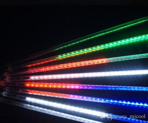 Meteor Shower Rain LED Light Tubes Christmas Outdoor Lights Lighting 20cm 30cm 50CM 480 LED Waterproof Party Xmas Fairy Led Light