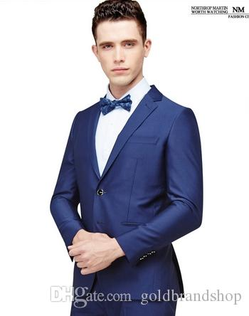 Autumn and winter hot fashion cultivate one's morality men suit suits men groom wedding dress