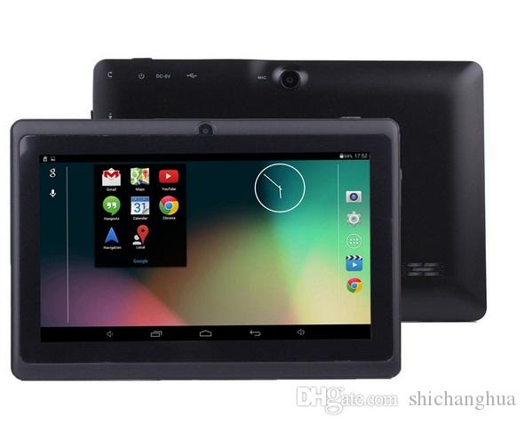 "7"" Q88 A33 quad Camera 7 inch tablet pc android 4.4 better Best Selling Free Shipping Discounted Newest retail packaging"