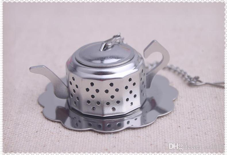 regalo de boda y regalos para invitados - Té para dos teteras infusor de té favorece recuerdo del partido /