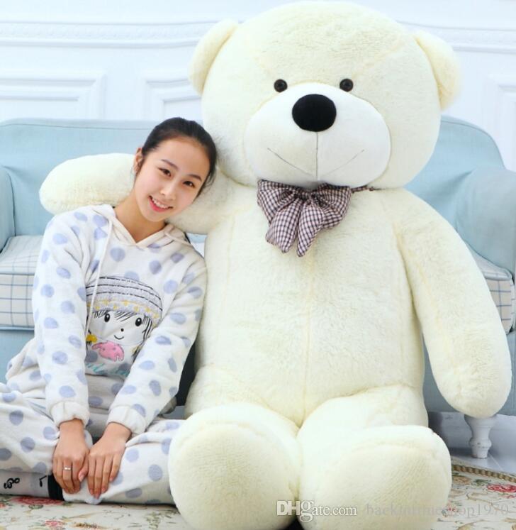180 cm / 1.8 m gigante urso de pelúcia vida tamanho grande roxo pelúcia brinquedos de pelúcia animal do bebê do bebê bonecas de presente dos namorados para as meninas