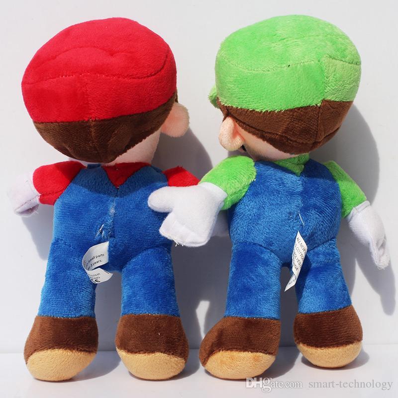 """9"""" Super mario Bros Plush toy Mario luigi soft plush stuffed toy doll"""
