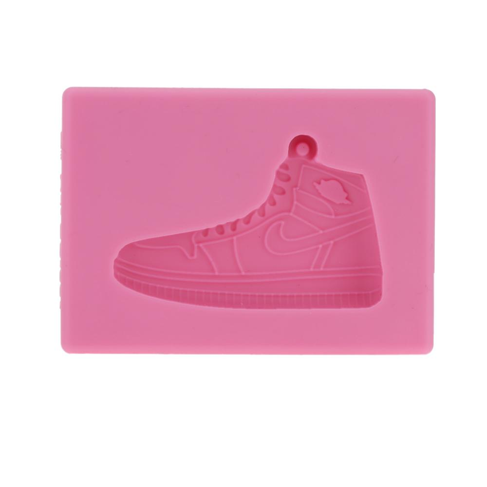 ANSELF Kitchen Supplies Shoes Pattern Cake Mold Silicone Cupcake Decoration Mould Beautiful Fondant Chocolate Baking Mat order<$18no track