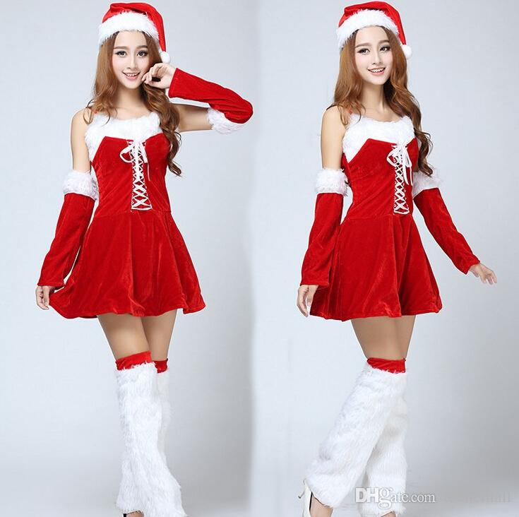 2015 Cute Women Dress Christmas Costume Christmas Dress/Christmas ...