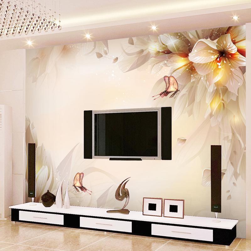 Fantasy Lily Mural Background Wall Wallpaper 3d Wallpaper Mural ...