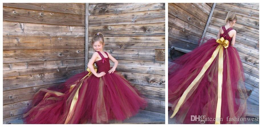 Çocuk Abiye Kabarcık Etek Çocuk Abiye Kızlar Yüksek dereceli Net Iplik ve Bel Paspas Zemin Elbise Çocuklar Ince Kabarcık Skir