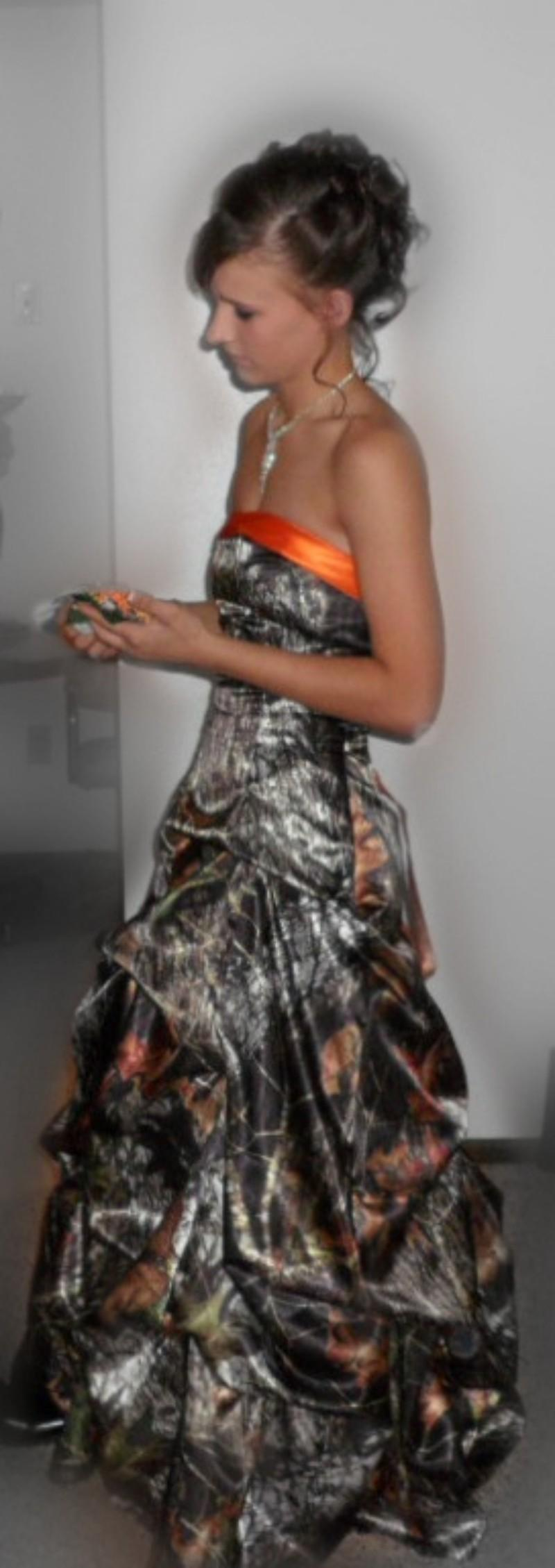 Cheap Realtree Camo Prom/Homecoming Dresses Camoflauge Ball Gown ...