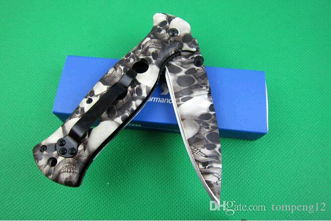 Venta caliente de acero frío X33 cuchillas plegables cuchillos de regalo cuchillo de bolsillo cuchillo de caza D2 envío gratis 1 unids