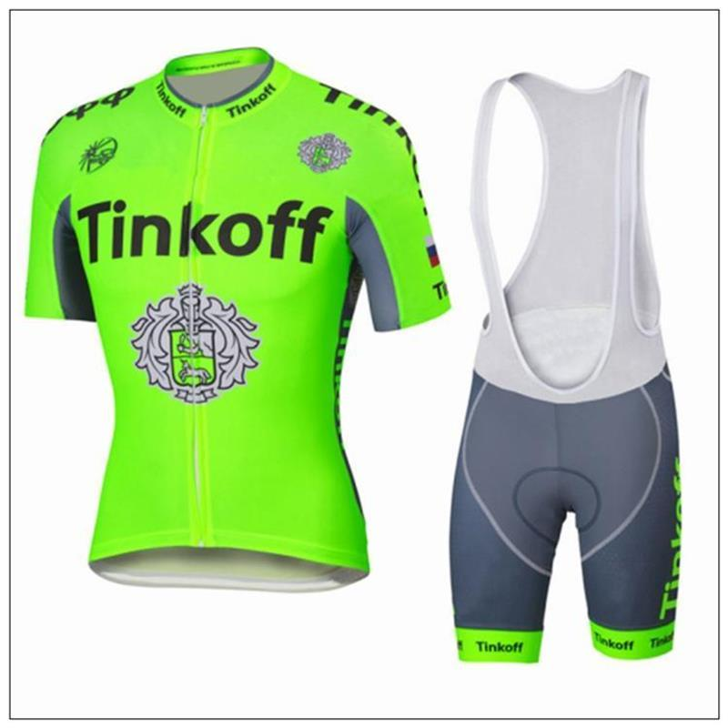 Cheap THINKOFF Cycling Jersey Set Short Sleeve With Cool Max Padded  Trousers Fluo Green Cycling Jerseys Top Class Lycra Bike Wear Anti Team Cycling  Jerseys ... 72e05c478