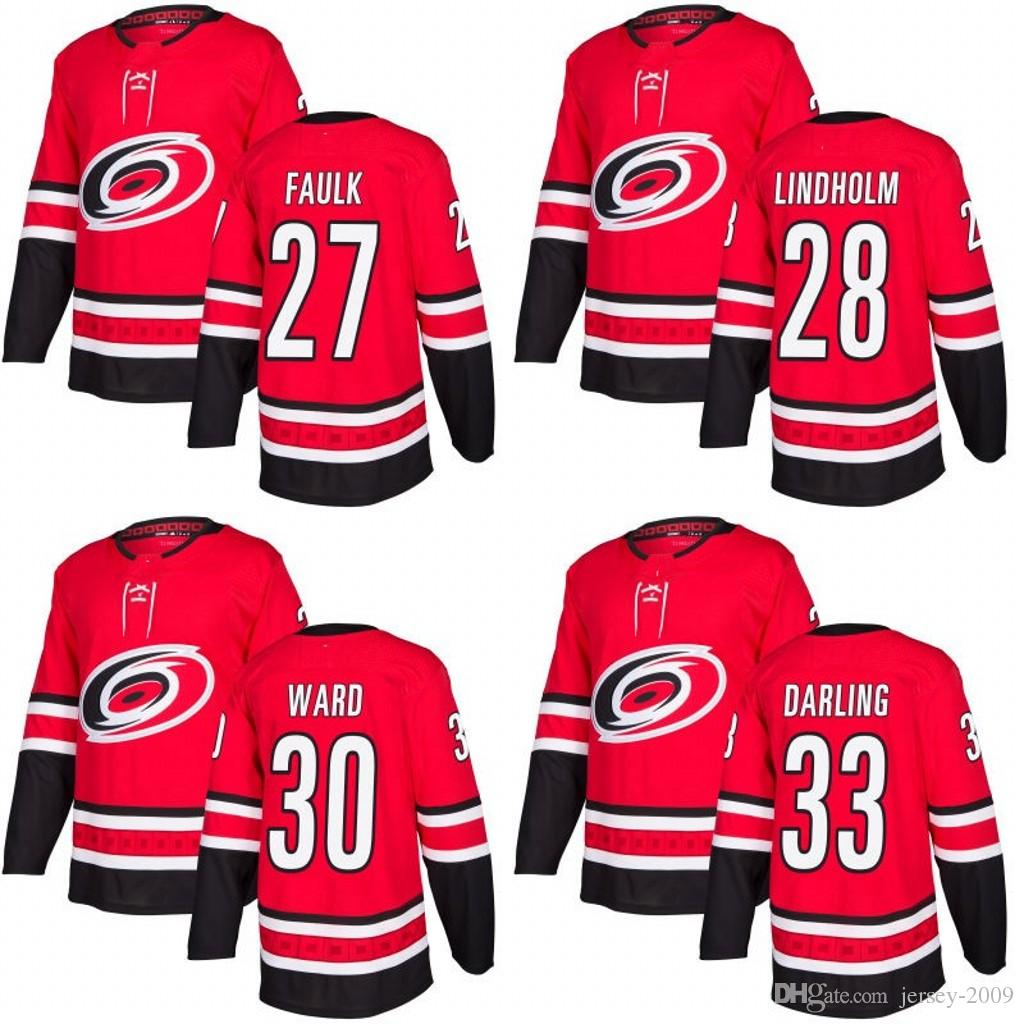 38a2320fc ... norway carolina hurricane 2017 2018 season jersey 27 justin faulk 28  elias lindholm 30 cam ward