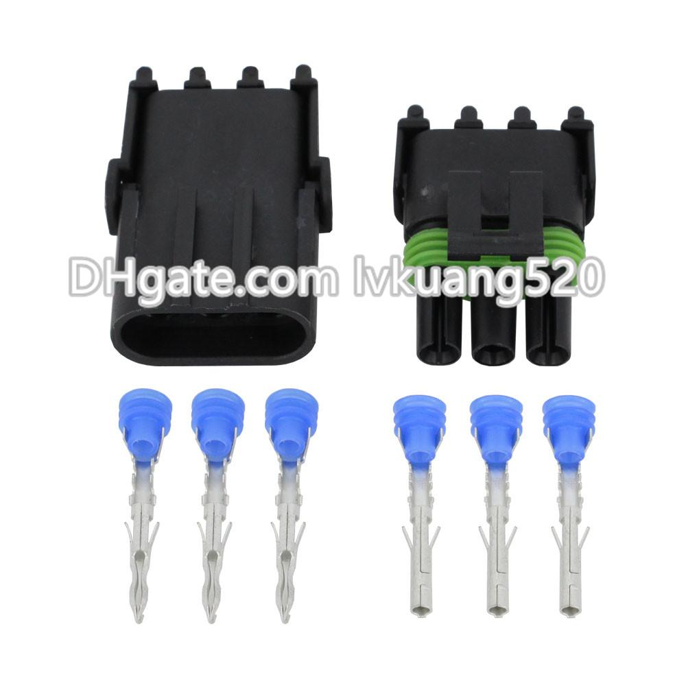 3 Pin DJ3031Y-2.5-11/21 Waterproof Weather Pack Electrical Wire 2.5 Connector Plug Sealed Wiring Automobile Connectors