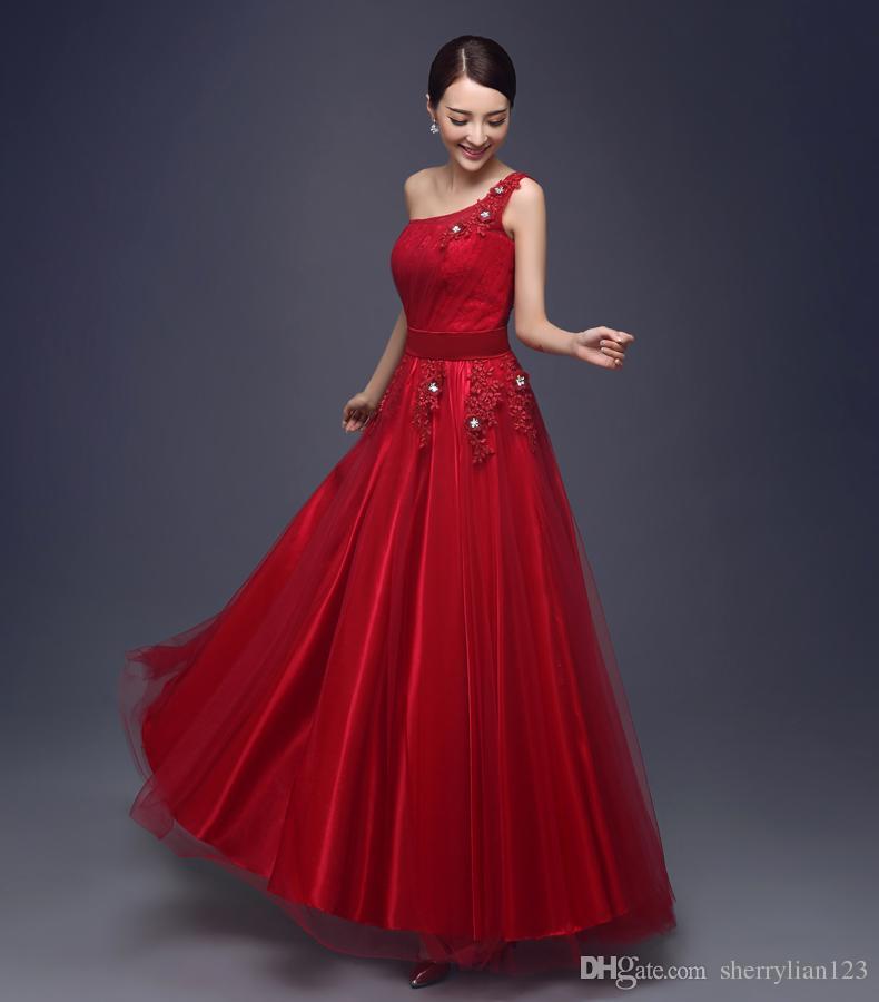 Compre Vestidos De Fiesta Baratos Del Nuevo Diseño Vestidos Largos ...