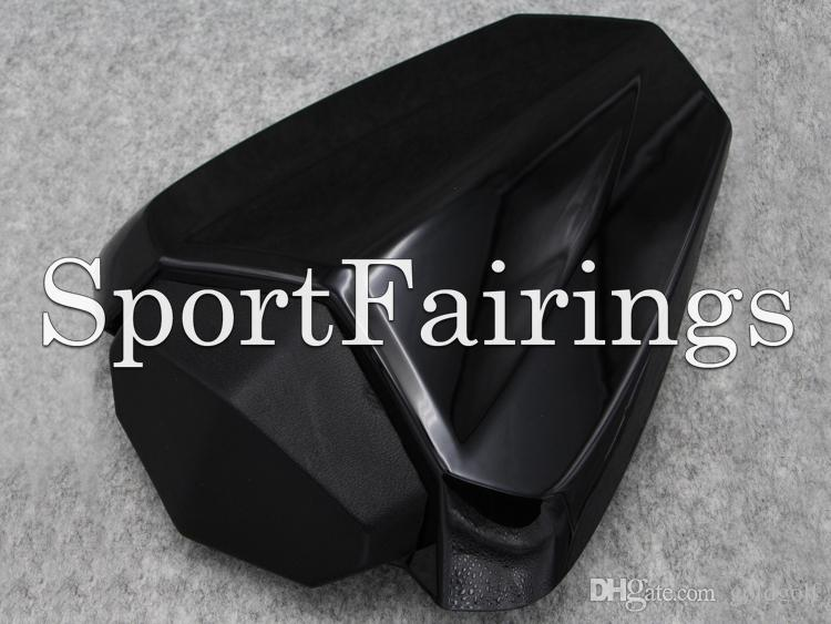 Cubierta trasera del asiento de la motocicleta negra para Yamaha YZF1000 R1 Año 09 10 11 12 13 14 2009 - 2014 Inyección ABS Cubierta de asiento de carenado de plástico Nuevo