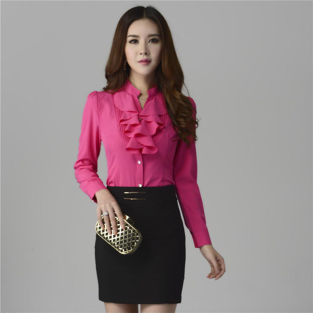 Online Cheap New 2016 Korean Style Office Work Wear Fashion Color ...