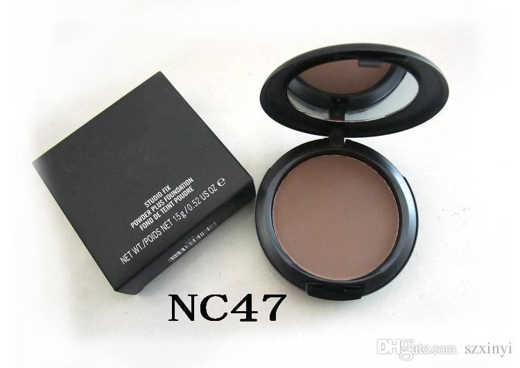 HOT NEW Makeup Studio Fix Face Powder Plus Foundation with logo 15g Volume High Quality For Christmas Holiday Gift