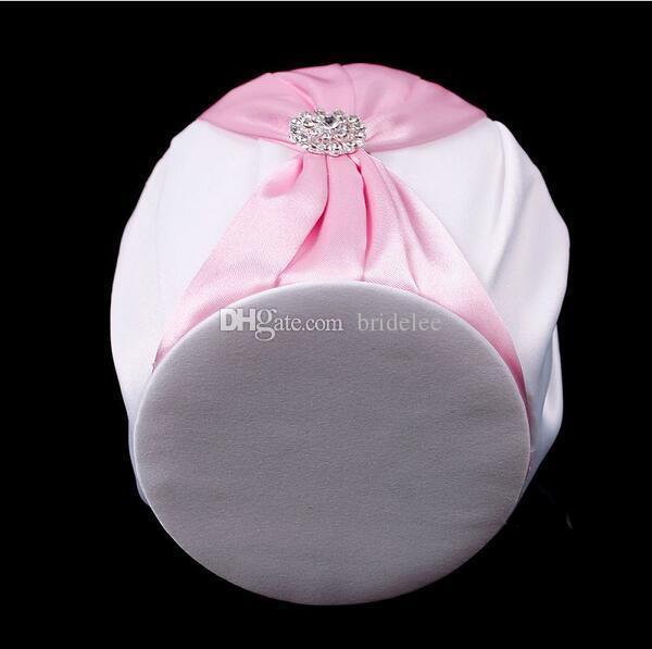 2020 New Fashion Royal Blue White Pink Bow Forniture matrimoni Flower Girl Basket forniture matrimoni