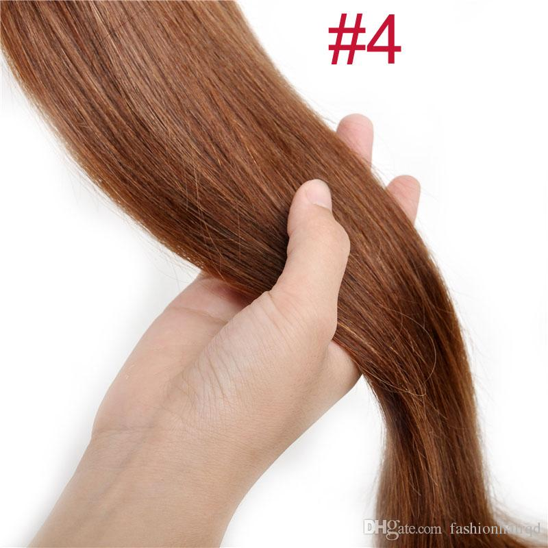 #2 Straight Tape In Human Hair Extensions 30g 40g 50g 60 70g Cheap Indian Remy Human Hair Skin Weft
