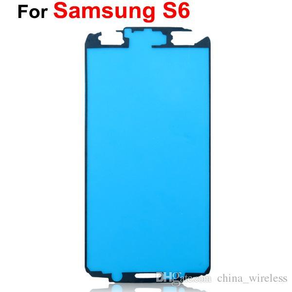 Für Samsung-Galaxie A3 A5 A7 S6 vorderes Rahmen-Gehäuse pre-cut klebendes Kleber-Aufkleber-Band DHL EMS geben Verschiffen frei