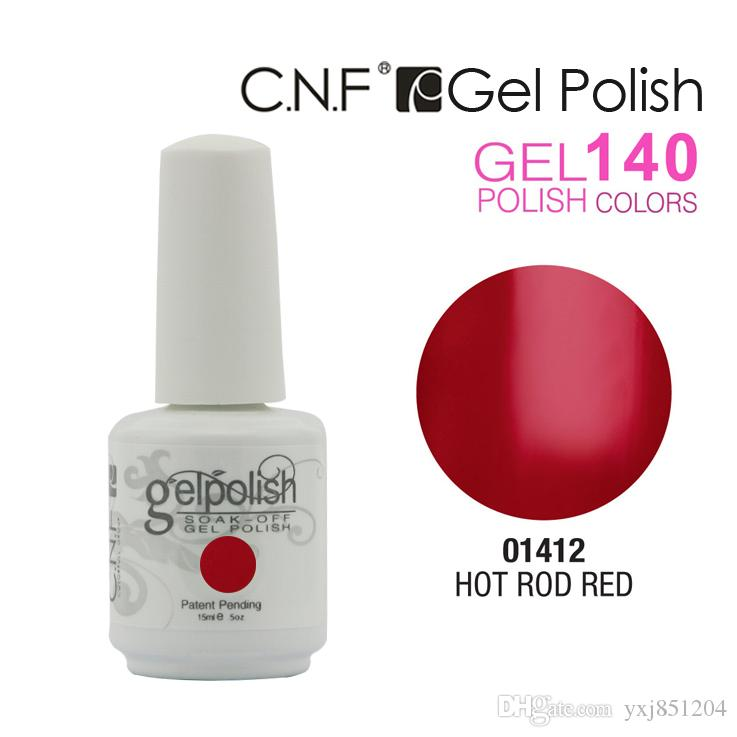 (60color + 4top + 4base) CNF Gelish Brand New 15ml 5oz Мода 140models выбор Nail Art замочить от УФ-гель польский