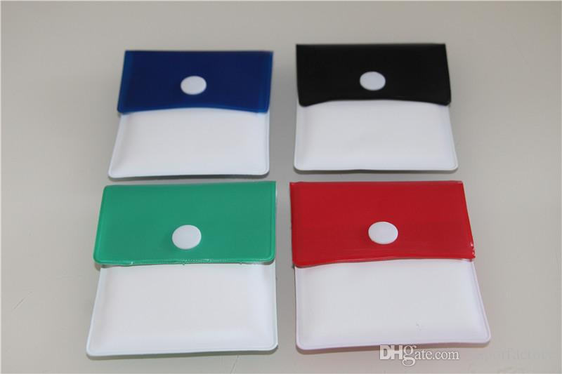 Japan Style Portable Tabac Fumer Cigarette Cendaine Cendrier Pochette Pochette PVC Feuille PVC Mini Sac à cendrier Porte-cendres