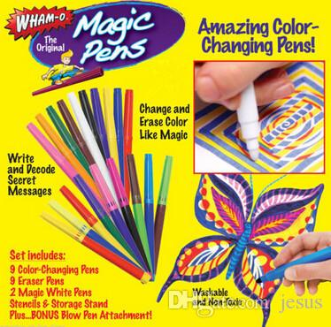 New magic pens wham-o wham-0 20 pens ages 4+ works on any paper! Wholesale Best toys gifts for kids
