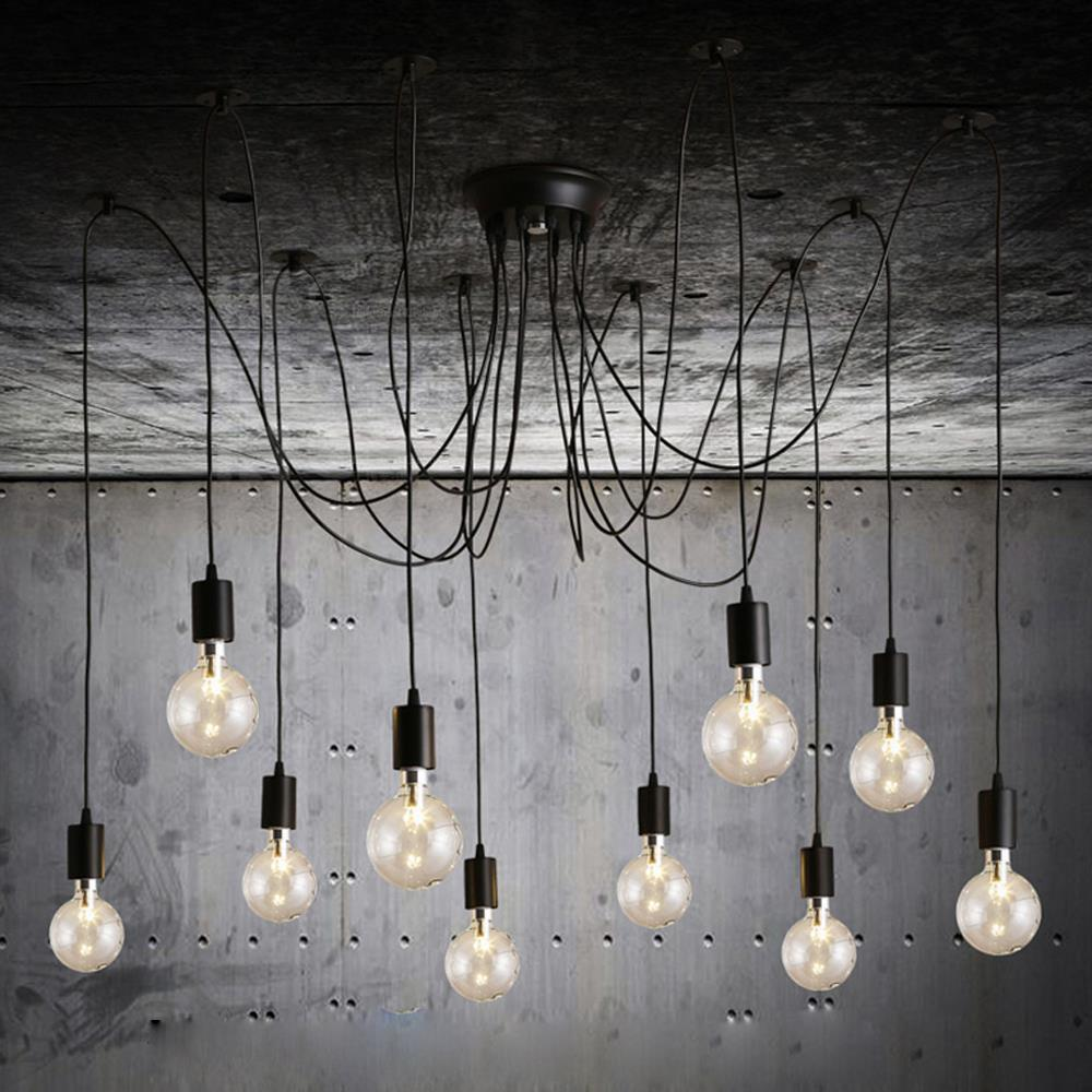 Details about e27 type plug in hanging pendant light fixture lamp bulb - See Larger Image