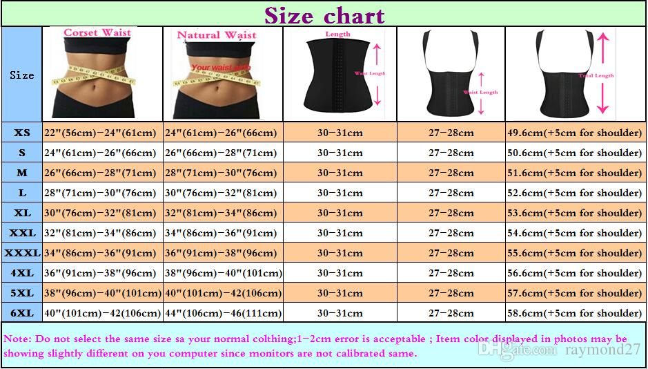 Sexy Corset Top Women Plus Size XS-6XL Waist Training Corsets Slimming Body Shapers Ann Chery Latex Waist Trainer Sexy Steel Boned Bustiers