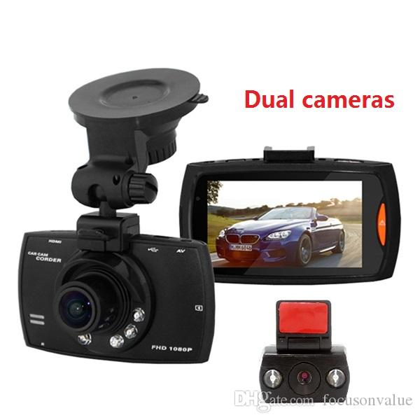 Double Cameras Car Dvr G30 Full Hd 1080p Night Vision Car Camera ...