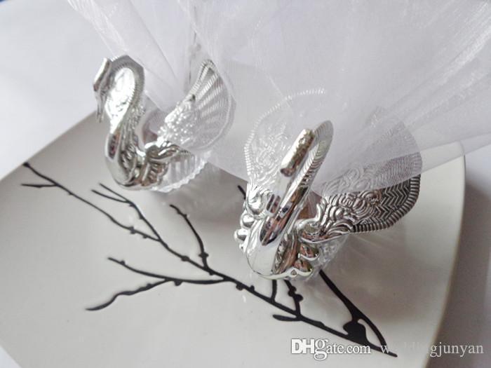 2015 새로운 결혼식 호의 아크릴 실버 백조 달콤한 결혼 선물 Jewely 사탕 상자 사탕 선물 상자 결혼식 호의 소유자