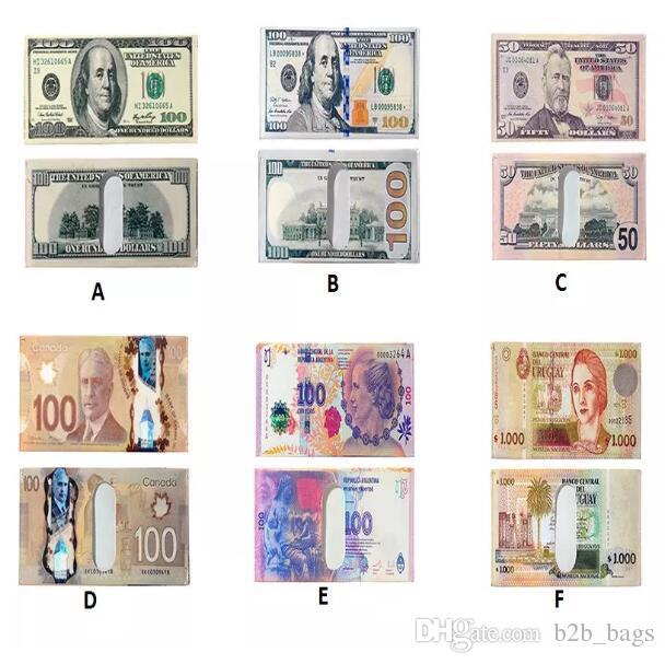 fbaf5b6a1 Compre Vários Países Papel Dinheiro Carteira Moda Masculina Dólar Bolsa  Carteira Carteira Titulares Crianças Caçoa O Presente CCA8004 De B2b bags