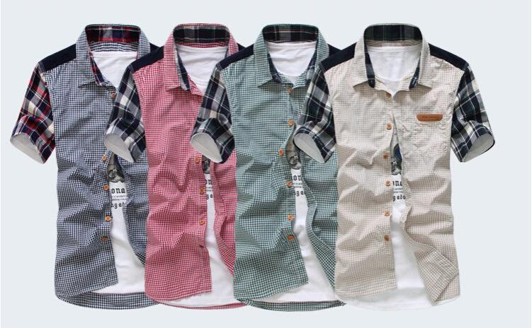 Best Quality Plaid Shirts Men Shirt Imported Clothing Camisa Mens ...