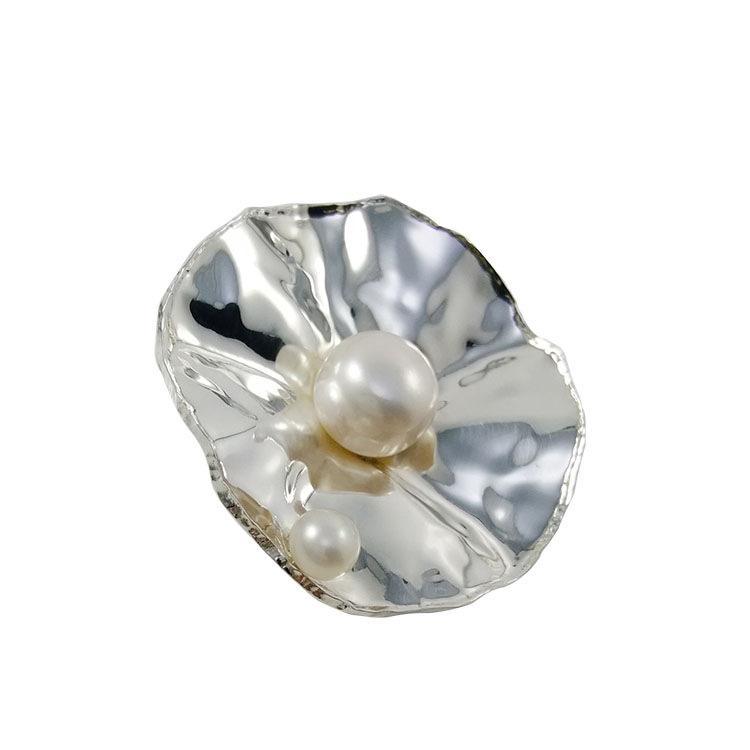 Оборки из серебра 925 пробы с пресной водой и жемчугом Лучший дизайн подвески Нерегулируемый винтажный серебряный брелок для N969 онлайн