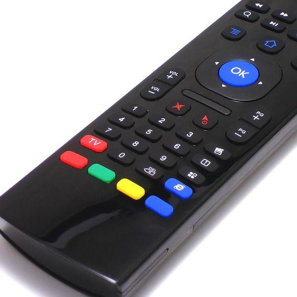 X8 2.4 Ghz Teclado Inalámbrico MX3 Modo de Aprendizaje IR 3D Fly Air Mouse Control Remoto para Mini PC Android Smart TV Box