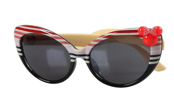 MOQ=brand new summer kid girls mouse sunglasses Children's uv sunglasses girl Sun glassesbaby sunblock drop shipping