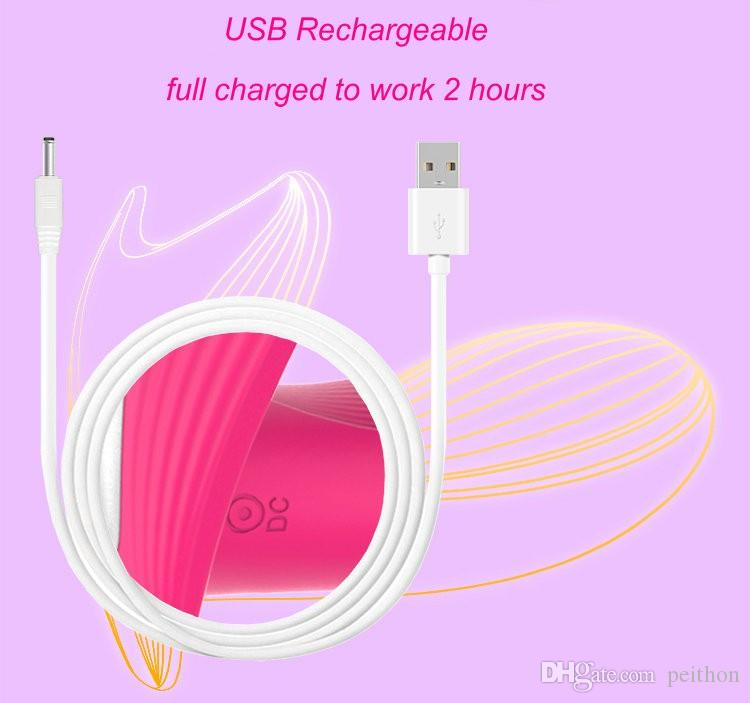 FOX Remote Vibrator USB Charged Female Masturbation Strapless Strapon G-spot Dildo Vibrators Adult Erotic Sex Toy for Women