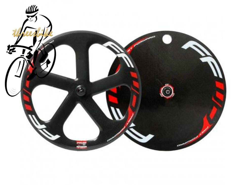 Fast Forward Five Spoke And Disc Wheel Carbon Bicycle Wheels Road