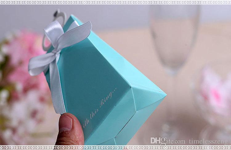 2016 wedding Love birds and diamond ring candy box ,Wedding Boxes Gift box folding European Style Candy box