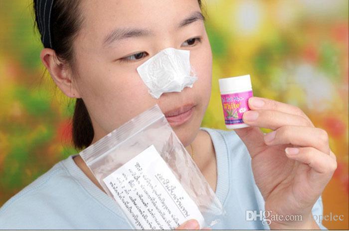 Thailand aloe vera gel pig nose blackhead pore strips blackhead remover black head Nose mask Acne Remover Clear kit blackhead mask