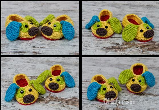 Baby Boy's Shoes, Loafer Shoes,Acrylic Yarn, Baby Shower omfortable infant Gift Crochet Booties 0-12M cotton yarn