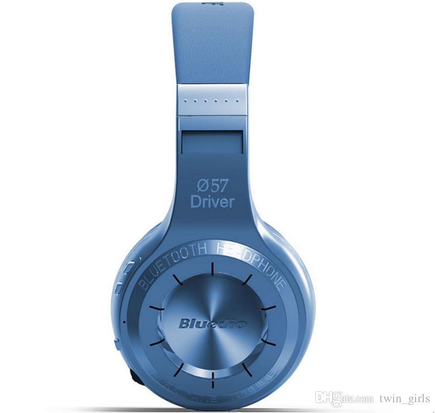 2015 쇄도 Bluedio HT 슈팅 브레이크 무선 블루투스 4.1 스테레오 헤드폰 내장 마이크 핸즈프리 전화 및 음악 스트리밍